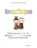 Storytown Theme 1 & 2 high-frequency word cards