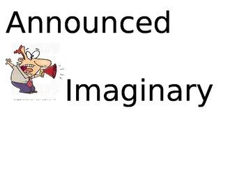 Storytown Vocabulary Kindergarten Theme 3