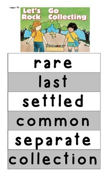 Storytown Vocabulary Posters Lessons 16-19, 21-24, 26-29