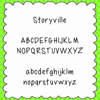 Storyville Font {personal and commercial use; no license needed}