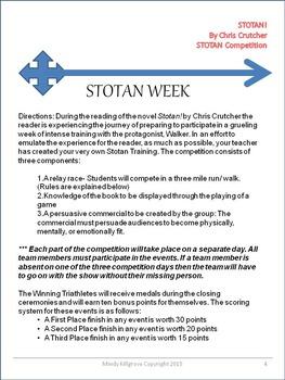 Stotan! by Chris Crutcher: Massive Study Unit