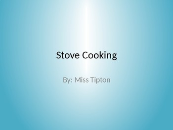 Stove Cooking (Quesadilla) for Independent Living