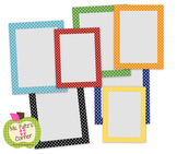 Digital Straight Frames: Primary Dots