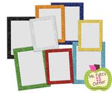 Digital Straight Frames: Primary Glitter