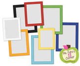 Digital Straight Frames: Primary Striped
