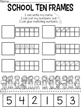 Straight Up! {Standards for Back to School Printables}
