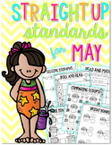 Straight Up! {Standards for May Printables}