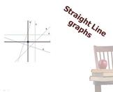 Straight line graphs
