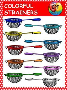 Strainer clip art (FREE)