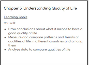 Strand B:  Global Inequalities: Economic Development and Quality of Life