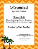 Stranded by Jeff Probst - Novel Unit