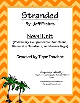 Stranded by Jeff Probst - Novel Unit