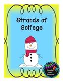 Strands of Solfege Music Worksheets