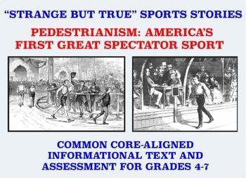 Strange and Amazing Sports #1: Pedestrianism
