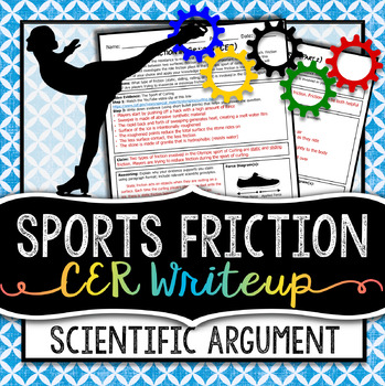 Friction in Sports - The Force of Friction Writing Project