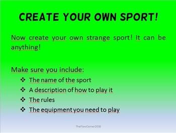 Strange Sports!