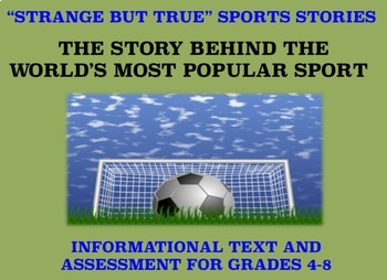 Strange and Amazing Sports #10: The World's Most Popular Sport