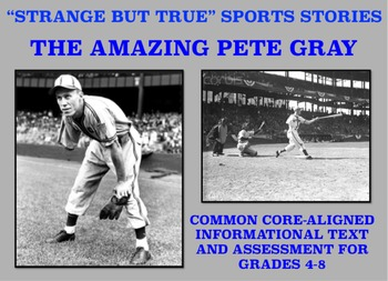 Strange and Amazing Sports #5: The Amazing Pete Gray