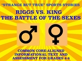 Strange and Amazing Sports #8: The Battle of the Sexes