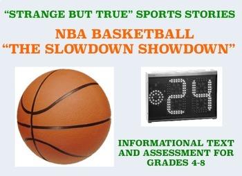 Strange and Amazing Sports #9: NBA Basketball's Slowdown Showdown