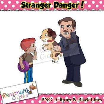 Stranger Danger Clip art