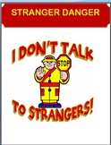 """Stranger Danger"" -lesson, 4 activities"