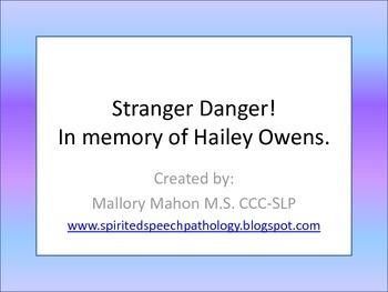 Stranger Danger - In Memory of Hailey Owens