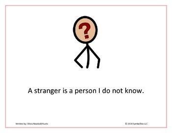 Stranger Danger Social Story