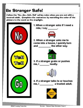 Stranger Safety: No - Go - Yell - Tell