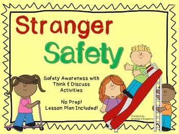 Stranger Safety – Social Skills / Spring Break / Summer Break / End of Year
