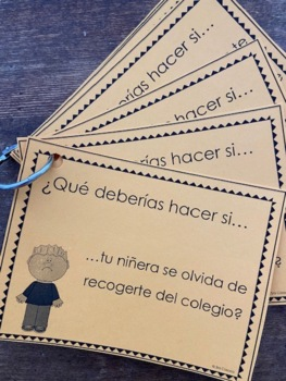 Stranger Safety for Elementary students (Spanish Version)