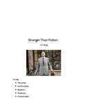 Stranger Than Fiction Film Study