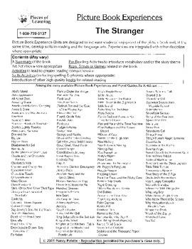 Stranger, The Literature Guide