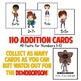 Stranger Things Addition Facts Game!  110 Cards - Numbers 1-10