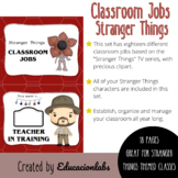 Stranger Things Classroom Jobs (Class Helpers & Leaders) i