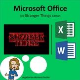 Stranger Things – Excel & Word (PBL)