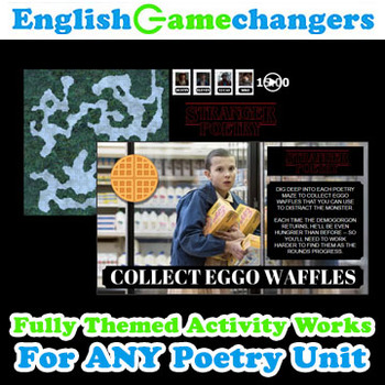 Stranger Poetry Things Upside Down Unit Activity!
