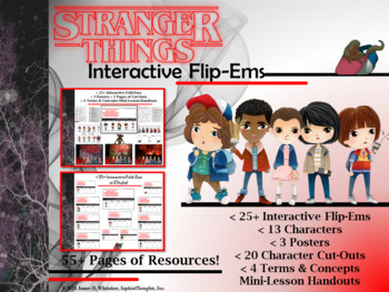 Stranger Things Interactive Character Flip-Ems