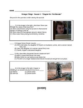 Stranger Things - Season 1, Episode 6 questions