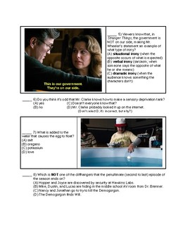 Stranger Things - Season 1, Episode 7 questions