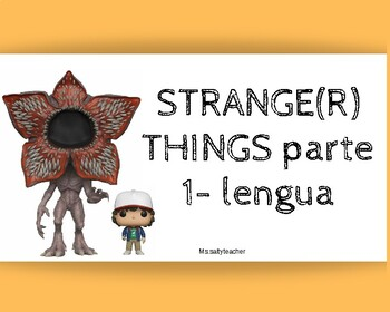 Stranger things repaso lengua 5º