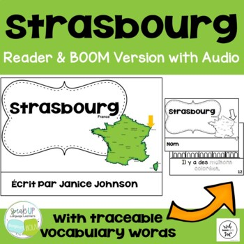 Strasbourg, France Reader & Vocab work ~ Simplified for La