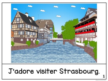 Strasbourg, France Reader & Vocab work ~ Simplified for Language Learners