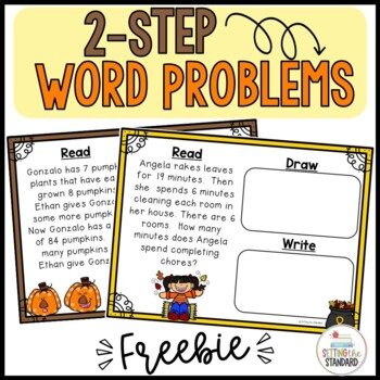 Stratagy Based 2 Step Word Problem Unit
