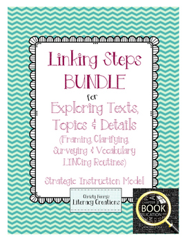 Strategic Instruction Model Bundle - Linking Steps for Exploring Routines