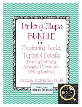Strategic Instruction Model Bundle - Linking Steps for Exp