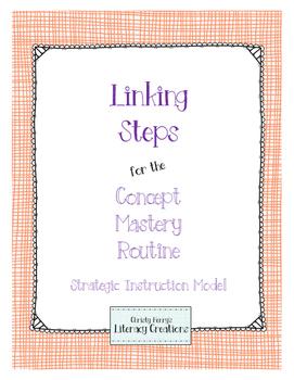 Strategic Instruction Model - Concept Mastery Linking Steps