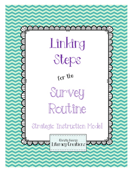 Strategic Instruction Model - Survey Routine Linking Steps