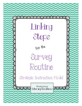 Strategic Instruction Model - Survey Routine Linking Steps