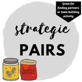 Strategic Pairs Activity/Game